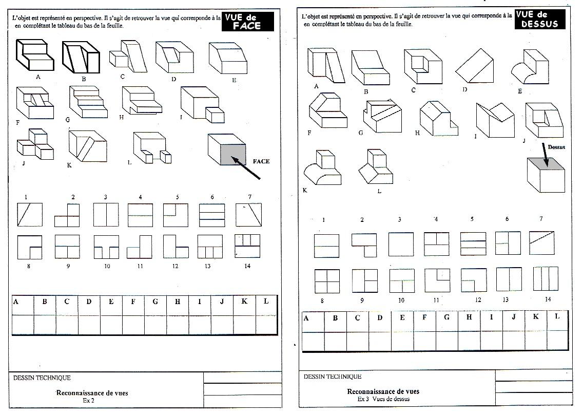 Quelques liens utiles - Exercice dessin industriel coupe et section ...